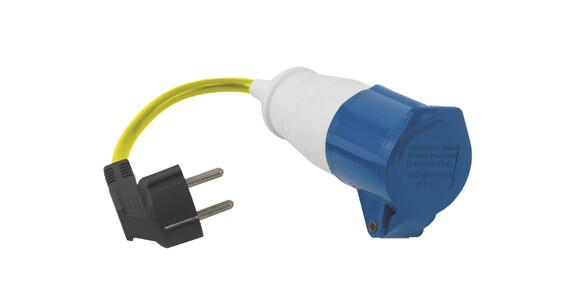 Outwell Conversion Lead Plug - amarillo/azul